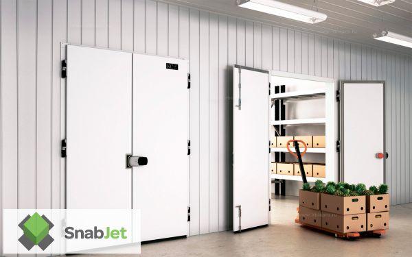 Распашные холодильные двери Коммерческой Серии